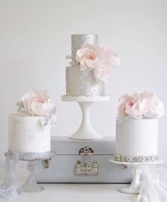Featured Wedding Cake:Cotton & Crumbs;www.cottonandcrumbs.co.uk; Wedding cake idea.