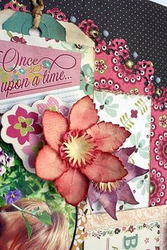 My Creative Scrapbook: Clematis Flower Tutorial by Carla Marchee
