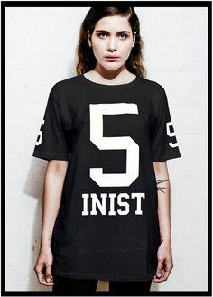 5inist Oversized by KRISTIN ZETTERLUND - Black