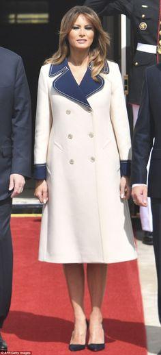 7a3400d6 Our beautiful FLOTUS Melania Trump First Lady Melania Trump, Trump Melania,  First Lady Of