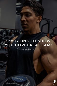 """I'm going to show you hw great I am. Muhammad Ali, Athlete, Fitness, Fictional Characters, Inspiration, Biblical Inspiration, Fantasy Characters, Excercise, Health Fitness"