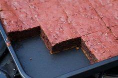 Brownies de chocolate caseros