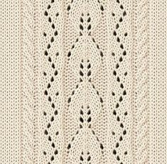 Knitting - Openwork patterns knitting needles - 47 schemes (from the Asian site) Lace Knitting Stitches, Lace Knitting Patterns, Cable Knitting, Knitting Charts, Easy Knitting, Stitch Patterns, Knitting Needles, Diy Crafts Knitting, Stitch Design