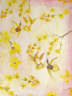 Humming Birds by Ruti Shaashua on Artfully Walls