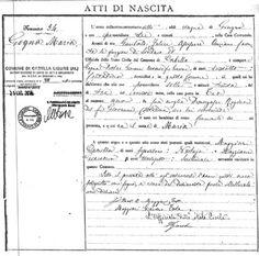 APELLIDOS ITALIANOS - Ances. S.S. Francisco. Ver en http://www.apellidositalianos.com.ar