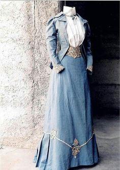 Ca. 1890 walking dress Found: Victorian Solstice - GDN