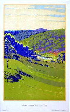 49: Walter E Spradbery (1889-1969) Epping Forest, No 55 : Lot 49