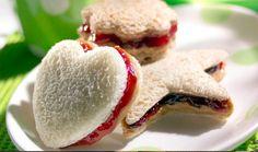 Li'l Strawberry sandwiches
