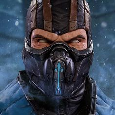 Mortal Kombat Sub-Zero Life-Size Bust by Pop Culture Shock Sub Zero Mortal Kombat, Mortal Kombat Games, Star Wars Collection, Movie Collection, Mortal Kombat Tattoo, Pop Culture Shock, Predator Alien, Collectible Toys, Action Toys