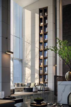 MyHouse关于行为的想法 Luxury Hotel Design, Luxury Interior, Interior Design, Guangzhou, Glass Brick, Hotel Lounge, Garden Pictures, Hotel Lobby, Lobby Bar