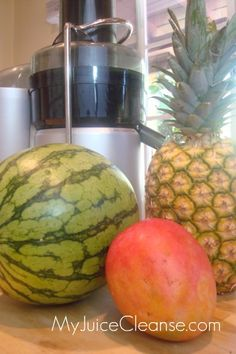 Pineapple Watermelon Mango Juice