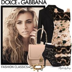 Nothin' but Dolce & Gabbana, created by stylesbyjoey on Polyvore