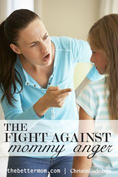 Anger seems to be a common struggle among moms. There will always be triggers…