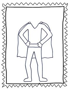 } A Superhero-themed Character Education unit Create A Superhero, Superhero Kids, Beginning Of The School Year, First Day Of School, Core French, Character Education, Learning Resources, Hobbies And Crafts, Toddler Activities