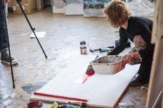 ArtBanana: Nahlížení do ateliérů Online Galerie, Contemporary, Home Decor, Atelier, Decoration Home, Room Decor, Home Interior Design, Home Decoration, Interior Design