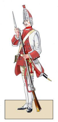 Graf Brühl Infantry - Project Seven Years War