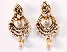 indian earrings designs - Google Search