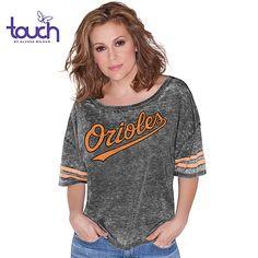Baltimore Orioles Women's Harper Dolman Tee touch™ by alyssa milano - MLB.com Shop