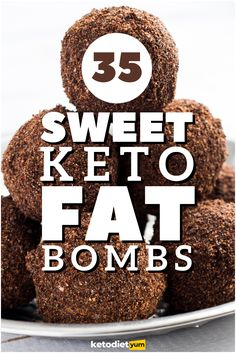 35 Best Sweet & Easy Keto Fat Bomb Recipes