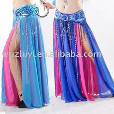 Blue and Pink dancing skirt
