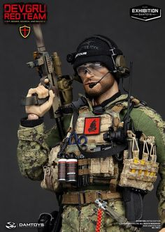 onesixthscalepictures: DAM Toys DEVGRU Red Team VBSS : Latest product news for 1/6 scale figures (12 inch collectibles) from Sideshows Collectibles, Hot Toys, Medicom, TTL, Triad Toys, Enterbay and others.