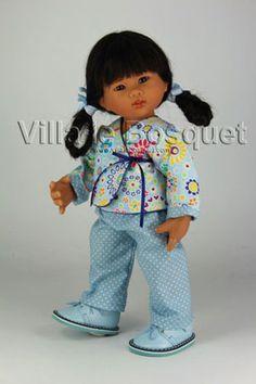 POUPEE ORIGINAL MÜLLER-WICHTEL KARITA - poupée de collection de Rosemarie Müllerw