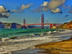 Open your Golden Gate...California here I come...