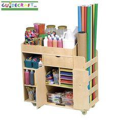 Guidecraft Art Activity Cart - G98202