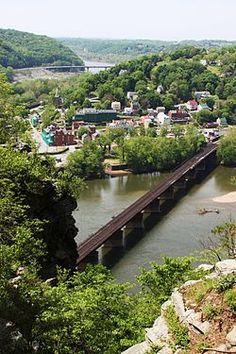Appalachian Trail, Harpers Ferry, West Virginia.