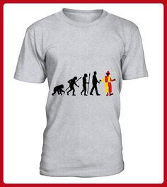 Evolution Of Man Clown01 3c TShirt - Evolution shirts (*Partner-Link)