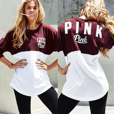 """""""PINK"""" Victoria's Secret Shirt Pullover Sweater Blouse Top from IDS Book. Saved to Things I want as gifts."""