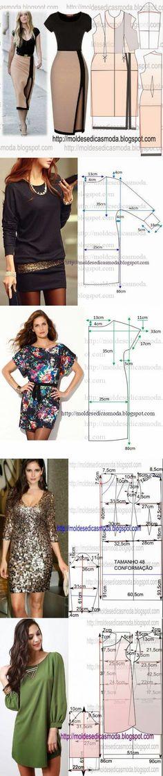 modelo de vestido +