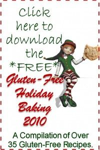 New 2010 Gluten-Free Holiday Baking E-Book - Download it Now! - Faithfully Gluten Free