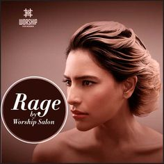 Final look- Rage by #WorshipSalon.   A look that says edgy and spontaneous.