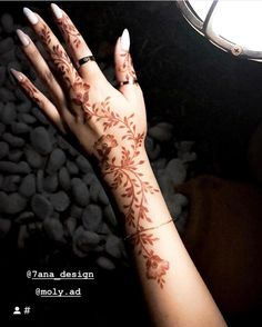 Henna Arist UAE me Webby reserves henna Floral Henna Designs, Finger Henna Designs, Arabic Henna Designs, Modern Mehndi Designs, Mehndi Design Pictures, Henna Designs Easy, Beautiful Henna Designs, Latest Mehndi Designs, Bridal Mehndi Designs