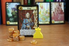 The King and his districts Board Game Pieces, Board Games, The Crown, How To Look Better, Phone Cases, King, Tabletop Games, Table Games, Phone Case