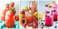 Η λεμονάδα, όπως υποδηλώνει και το όνομα της, γίνεται μόνο από λεμόνια... Όχι, πάντα! Τι εννοούμε; Μπορείτε να κάνετε λεμονάδα με φράουλα, βατόμουρο,...