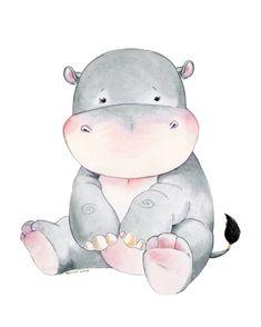 Hippopotamus Hippo Baby Hippo Watercolor Hippo Nursery Hippo Art Hippo Themed Hippo Nursery Watercolor Nursery Nursery Decor - Choosing A Baby Name - ideas of Choosing A Baby Name - Hippopotamus Hippo Baby Hippo Watercolor Hippo Nursery Watercolor Animals, Watercolor Paintings, Watercolour, Animal Drawings, Cute Drawings, Nursery Prints, Nursery Decor, Nursery Artwork, Hippo Drawing