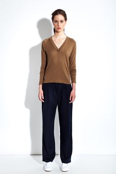 MASKA S/S16 - Katherine silk and cashmere sweater