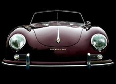 1955 Porsche 356 Speedster.