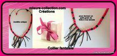 collier fantaisie, création mlaure-collection.com