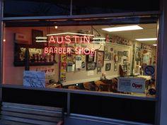 Austin's Barbershop in Beloit, WI