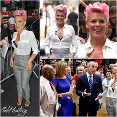 On This Day in #PinkHistory 9th July 2012 P!nk was on the Today Show. Check out www.PinkHistoryOfficial.com for more!
