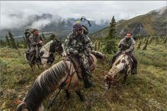 Horse-packing for Dall Sheep - Donnie Vincent
