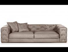 Nella Vetrina Turner Roberto Cavalli Home Modern Luxury Italian Sofa In  Wood And Leather