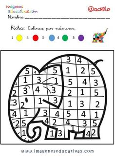 Great notebook to work attention Infanti levels … – Baby Ideas Montessori Activities, Kindergarten Activities, Learning Activities, Toddler Activities, Preschool, Elmer The Elephants, Numbers Kindergarten, Math Books, English Activities