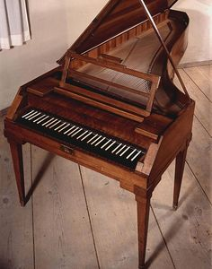 Mozart's fortepiano, from the Mozarteum, Salzburg