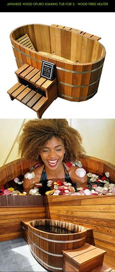 Japanese Wood Ofuro Soaking Tub for 2 - Wood Fired Heater #shopping #tech #drone #technology #parts #racing #fpv #kit #plans #products #wood #tubs #camera #gadgets #hot