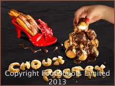 Shoe Pastry what else except very tasty.