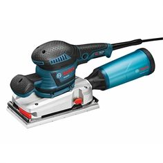 Bosch Sheet Sander at Lowe's. The Bosch Orbital Finishing Sander helps users to achieve perfect paper fit with the SheetLoc™ Supreme paper-clamping system. Sheet Sander, Finishing Sander, Bosch Tools, Power Sander, Bosch Professional, Cordless Drill, Life Design, Hardware